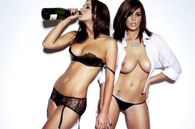 Holly peers y Rosie jones