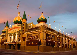 ALL HAIL THE CORN PALACE