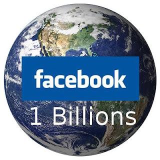 Facebook Kini Mencapai 1 Milyar Pengguna