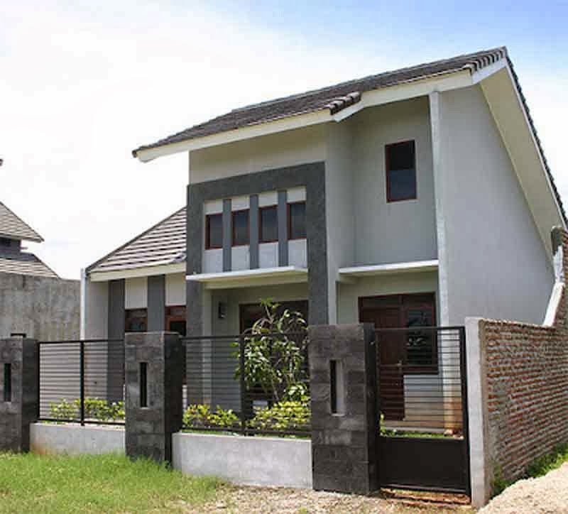 gambar desain rumah minimalis type 21 mungil dan modern