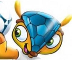 A mascote oficial da Copa de 2014