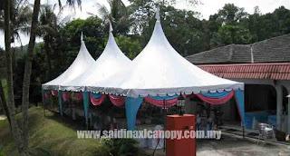 Mulakan Bisnes sewaan kanopi yang lengkap dengan modal RM25,500.00