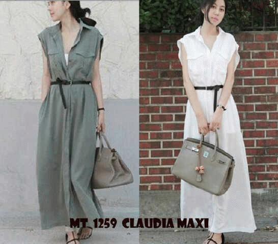 Jual MT1259 Claudia Maxi Dresses Murah