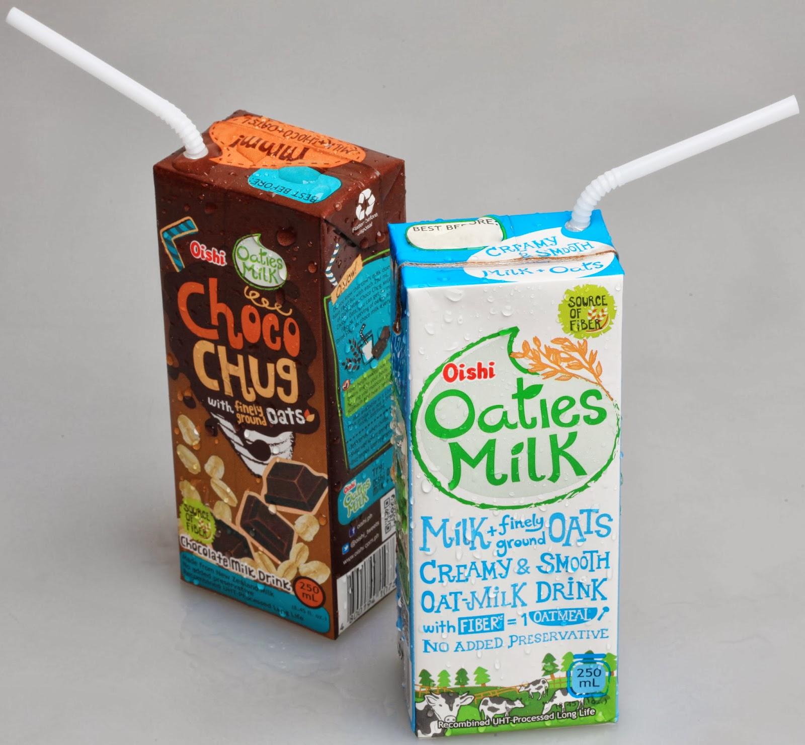 Favorite Weekend Drink: Oishi Oaties Milk and Choco Chug