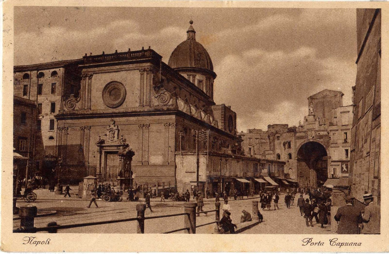 Antiche cartoline di napoli aprile 2013 - Porta cartoline ...