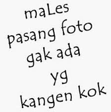 Dp Males Pasang Foto