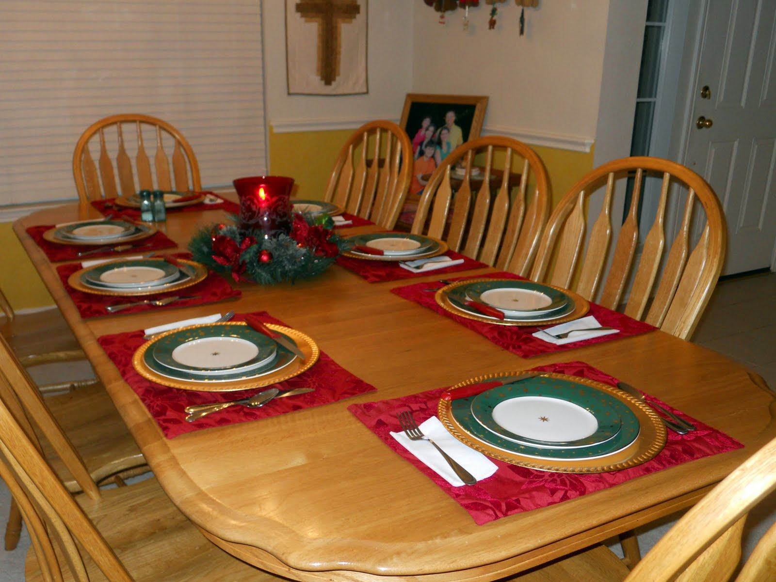 Table For Dinner : Displaying 15> Images For - Dinner Table...