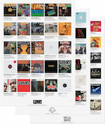 Discography Poster Prints