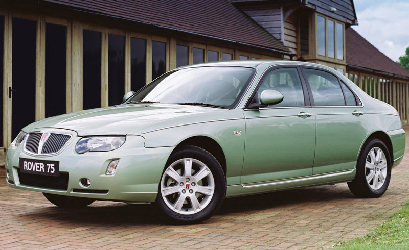 luxury car wallpaper automotive picture new usa automotive rover 75 2004. Black Bedroom Furniture Sets. Home Design Ideas