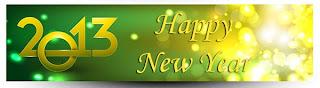 Neujahrsbanner