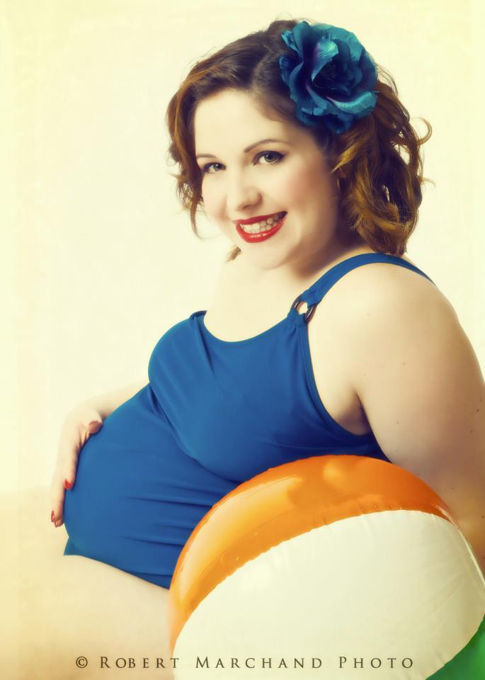 Ma grossesse Radieuse: Semaine 27! Vintage!