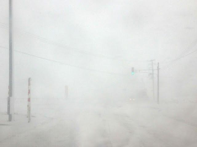 地吹雪,津軽平野〈著作権フリー無料画像〉Free Stock Photos