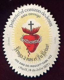 """Los interesados en adquirir """"Detentes del Sagrado Corazón de Jesús"""", pinchar sobre la imagen."""