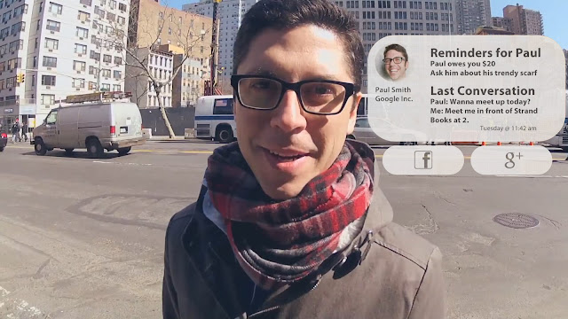 Google Glass Facial Recognition