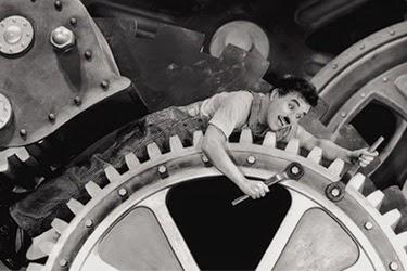 Tempos Modernos - Chaplin