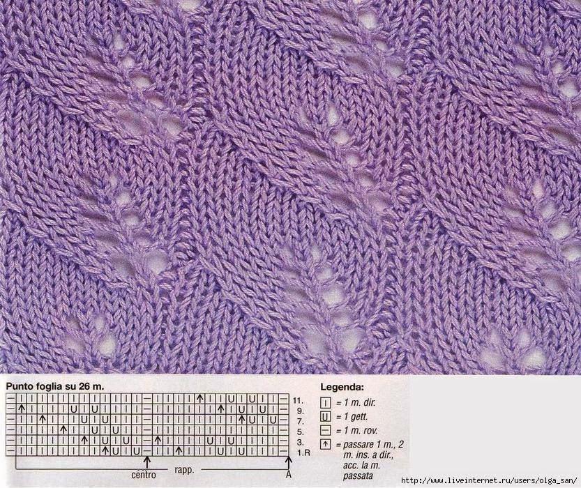 Popolare lo spazio di lilla: Collezione punti ai ferri 30 / knitting  HX86