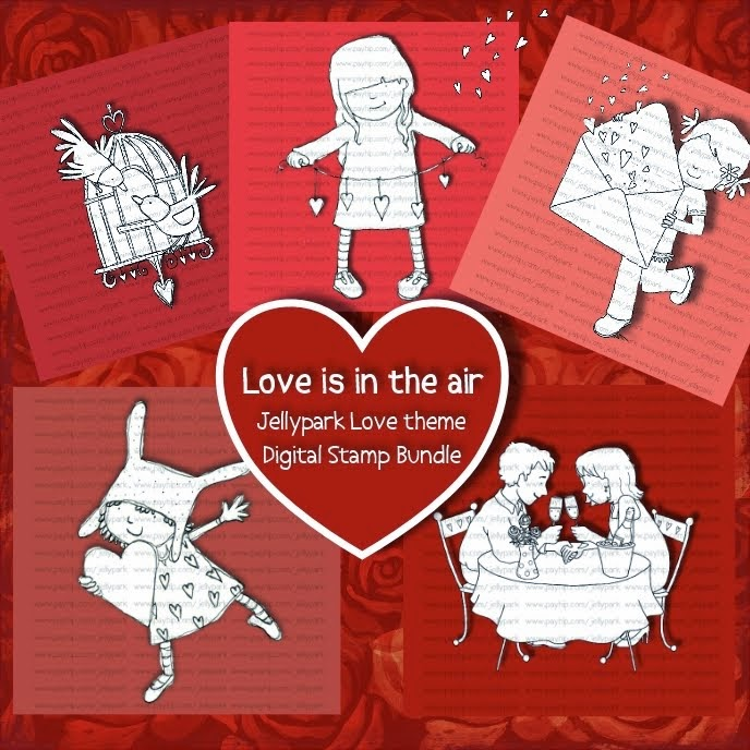 Jellypark Love is in the air bundle