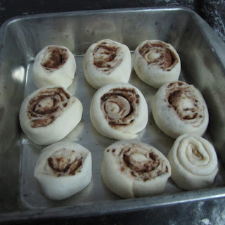 These last couple of months I have been very busy with some personal engagements Freshly Baked Eggless Cinnamon Rolls