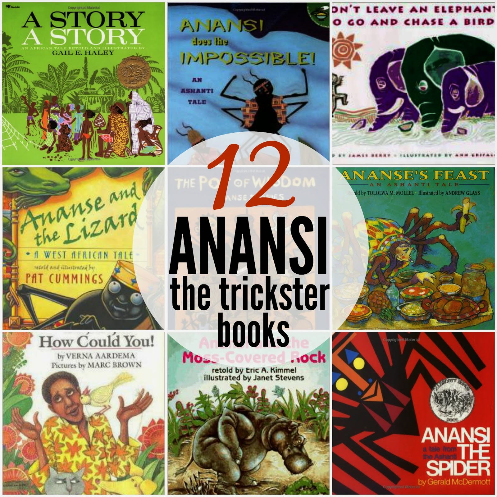 Marieu0026#39;s Pastiche: Anansi Stories - Trickster Tales from West Africa