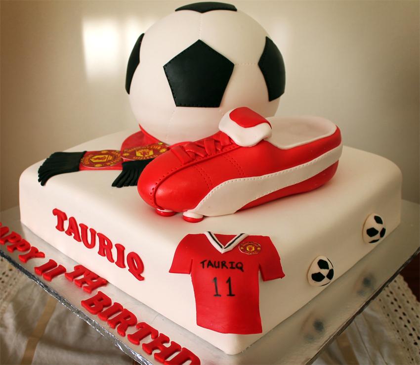Man United Birthday Cake Designs