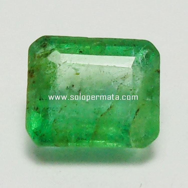Batu Permata Zamrud Emerald Beryl - 26A04
