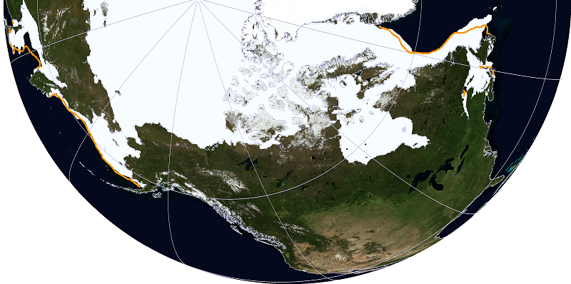 2014 maximum sea ice extent, National Snow and Ice Data Center.