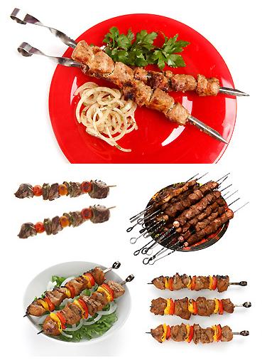 STOCK PHOTO صور عالية الجودة للحوم الكباب والكفتة