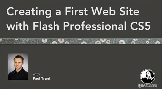 Lynda – Creating a First Web Site with Flash Professional CS5