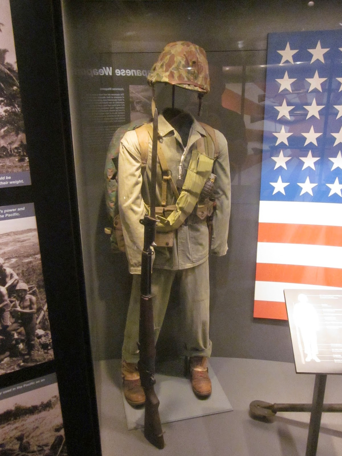 Bolt action some uniform and gear displays from the national ww2 a us marine uniform publicscrutiny Choice Image