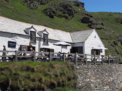 Tintagel Castle Beach Cafe