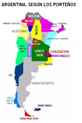 Argentina vista por los portenos...