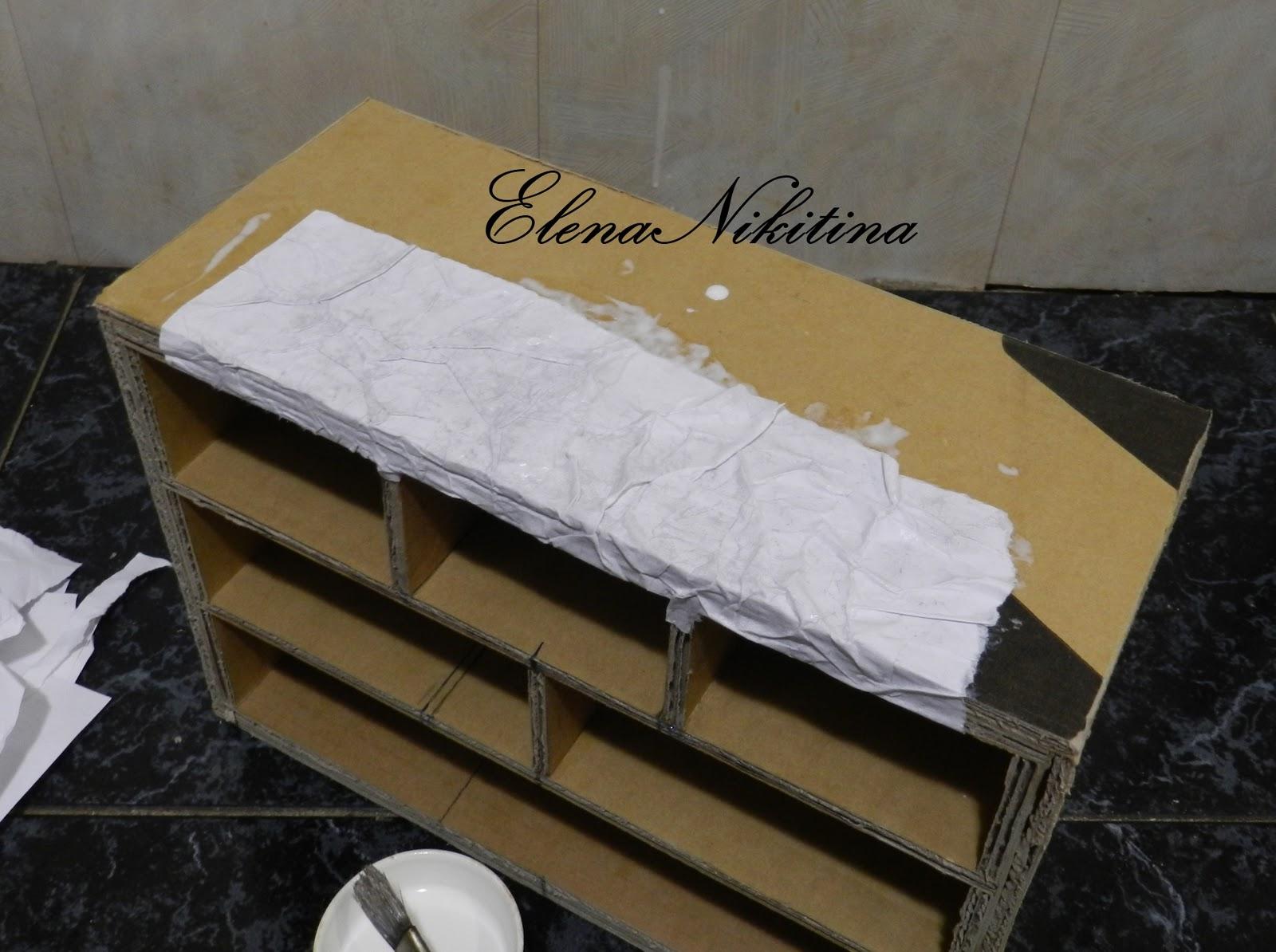 Шкатулка из картона для бижутерии своими руками