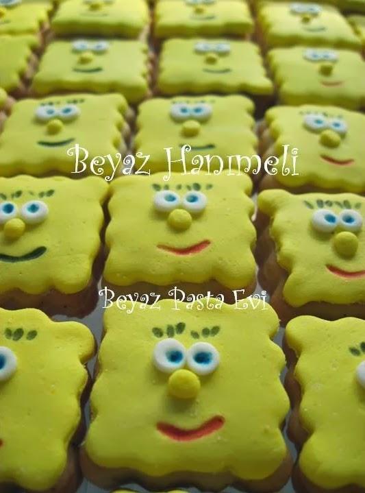 Sünger Bob kurabiyeleri