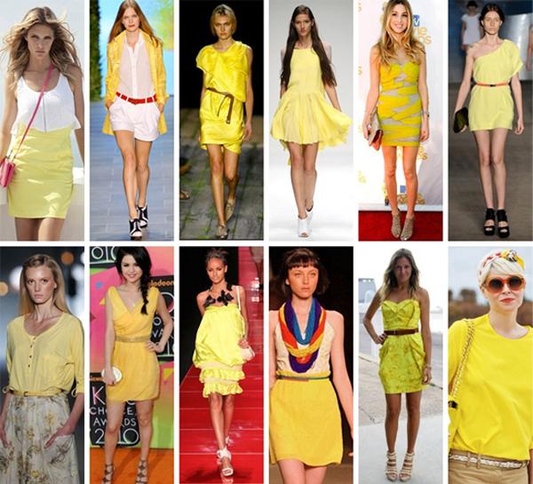 Moda Primavera Verão 2011 2012  Amarelo, uma tendência da estação!  Vestidos, calças, sapatos, bolsas, acessórios, esmaltes… 662574a728