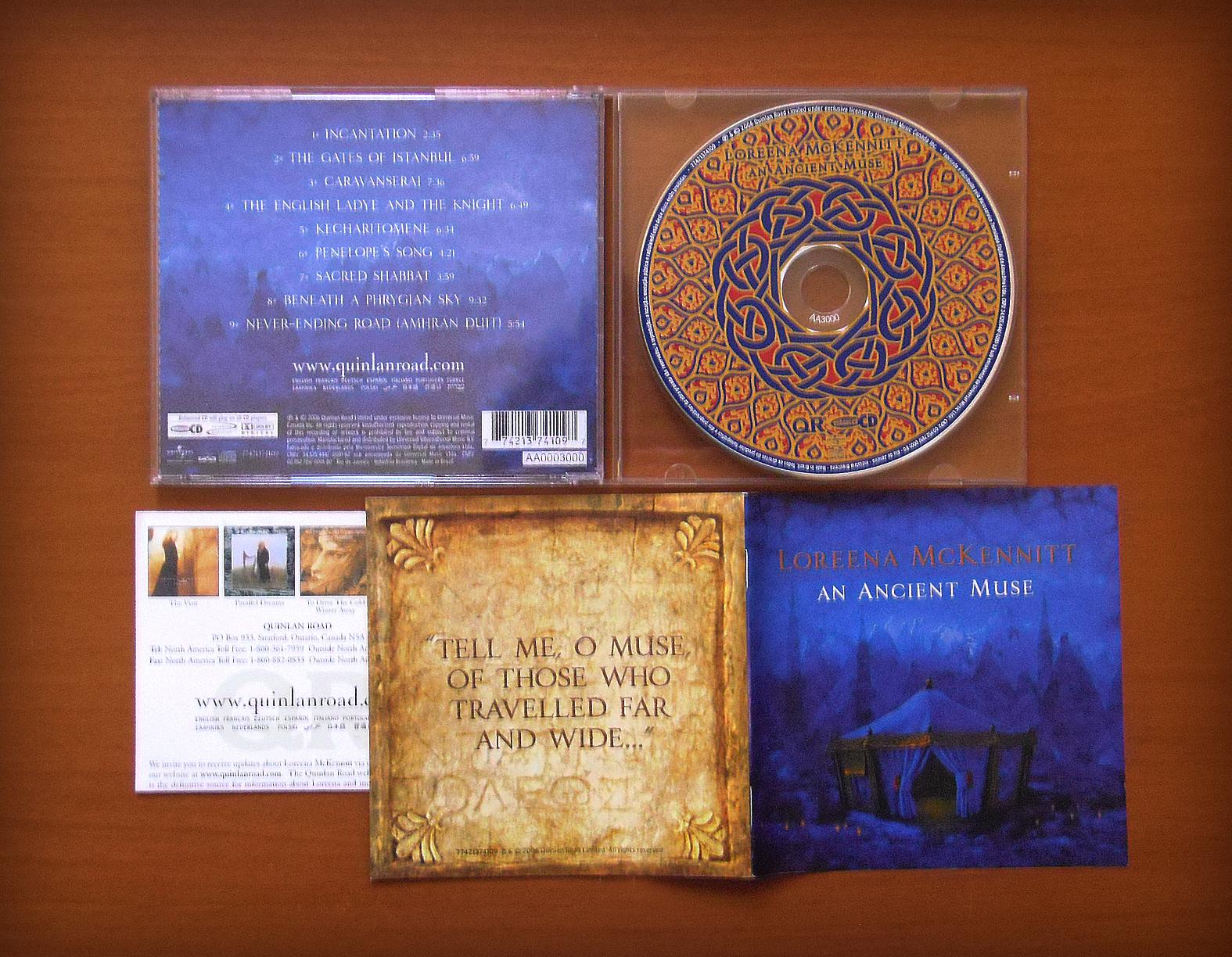 loreena mckennitt collection 2006 an ancient muse