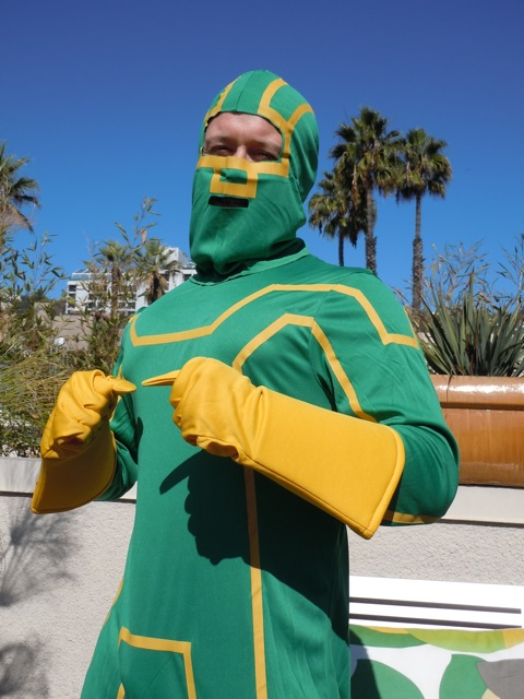 Halloween Kick-Ass costume