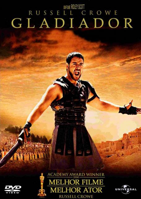 Filme Gladiador Dublado AVI DVDRip