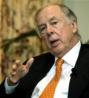 T. Boone Pickens - Energy Tycoon, T. Boone Pickens' Q3 Updates: Three New Buys Are Halliburton, Consol Energy And Arch Coal