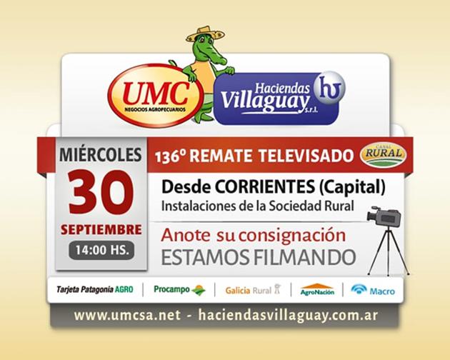 HACIENDAS VILLAGUAY - Representante en Federal: Carlos Fillol 03455156469