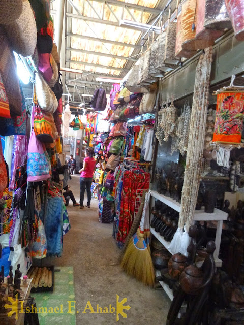Souvenir shops in LRC Market Mall, Puerto Princesa, Palawan