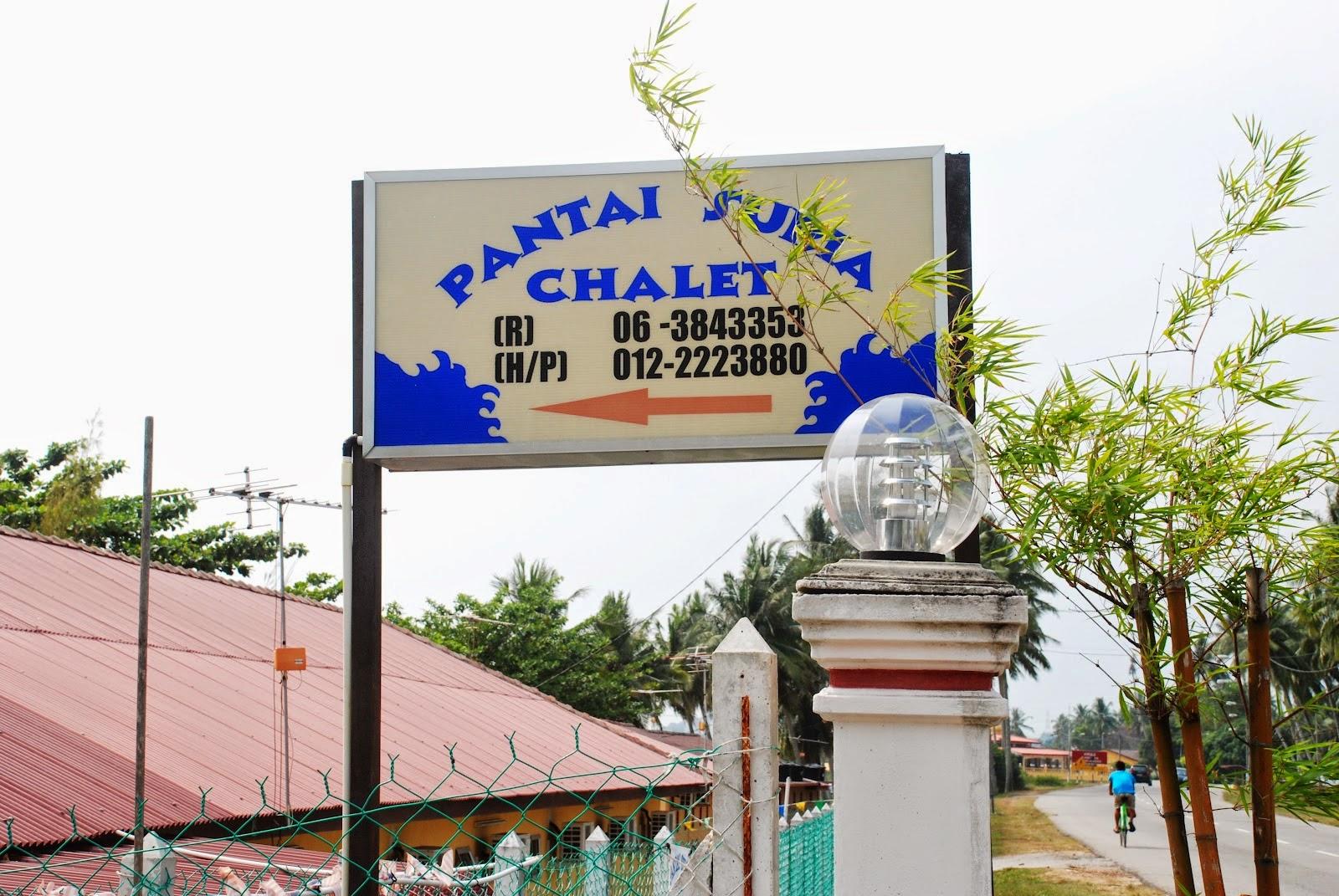 CHALET PENGKALAN BALAK MELAKA AREA Pantai Suria Chalet