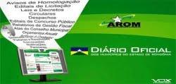 DiárioOficial dos Municipio-AROM/RO