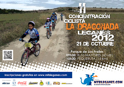 Dragonada MTB Leganés 2012