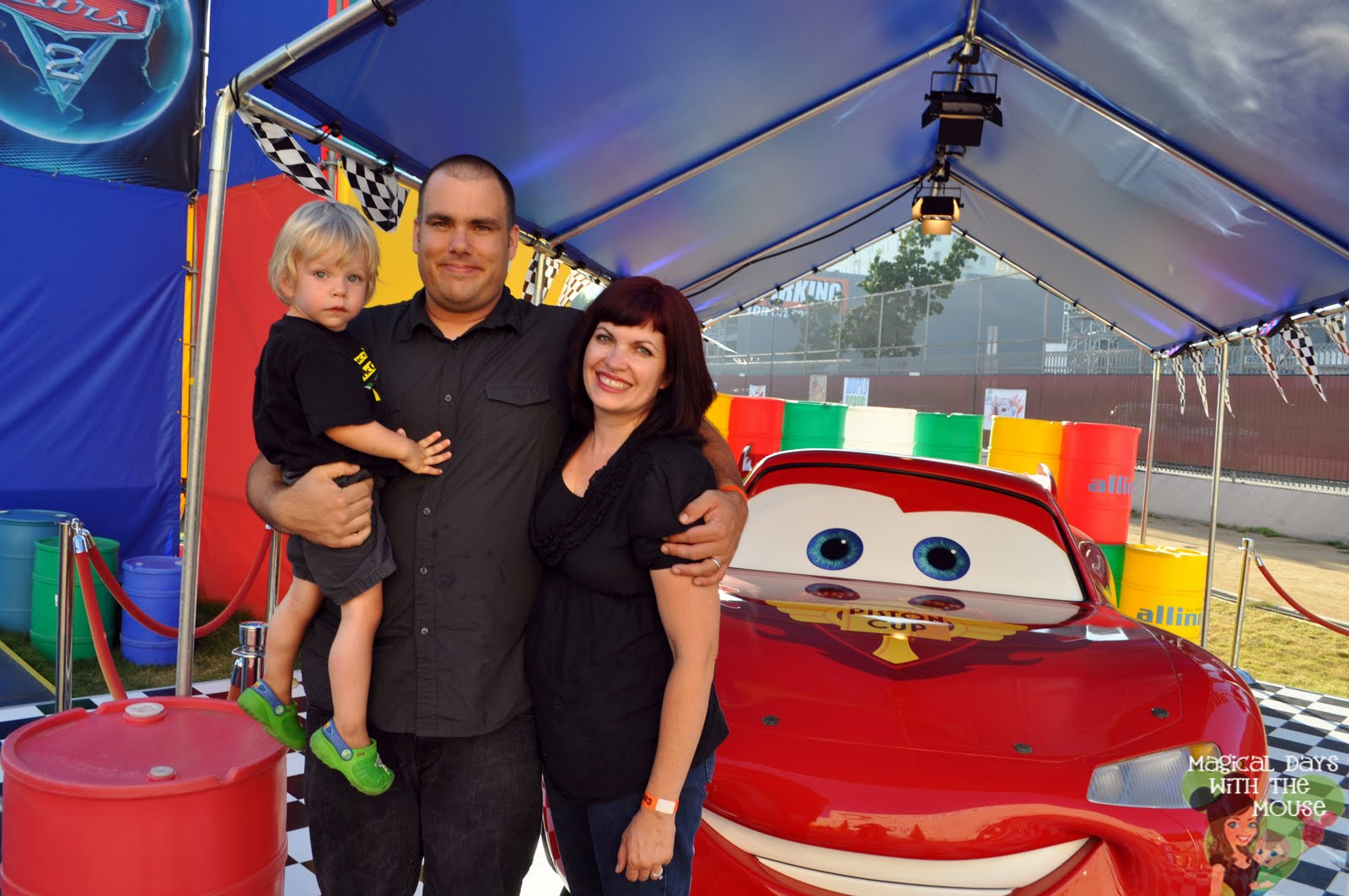 Lighting mcqueen will be the first car to greet you when entering the cars 2 world grand prix attraction my tip for you is to wait and get your picture