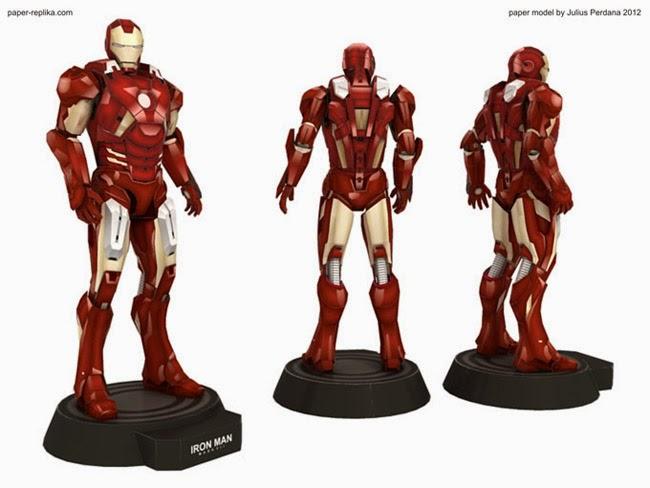 Iron Man Mark VII Papercraft Download