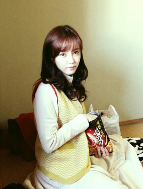 T-ara Hyomin Selca