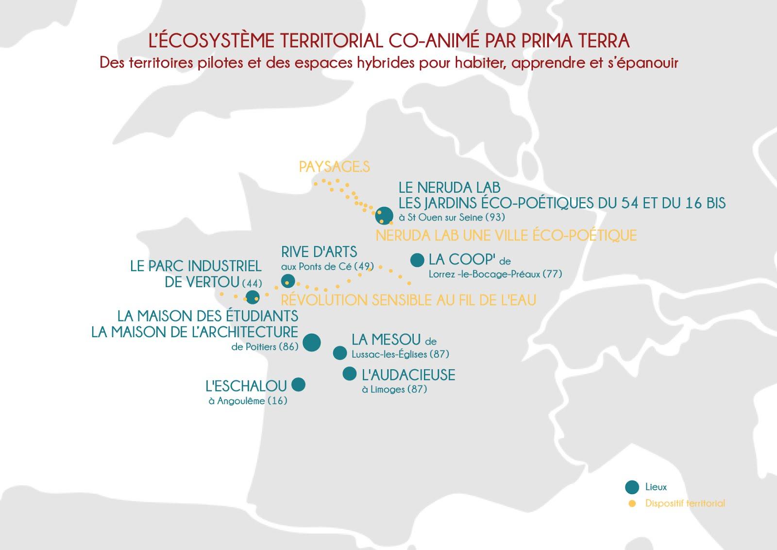 Prima Terra anime un large écosystème ...