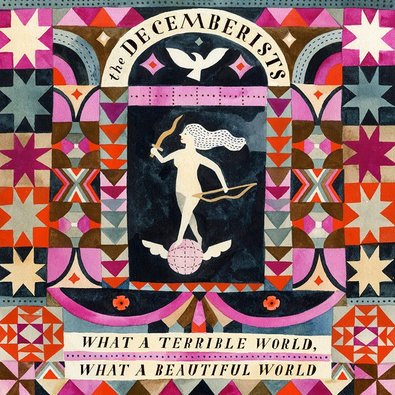 What a Terrible World, What a Beautiful World de The Decemberists - Gostei da Capa #1