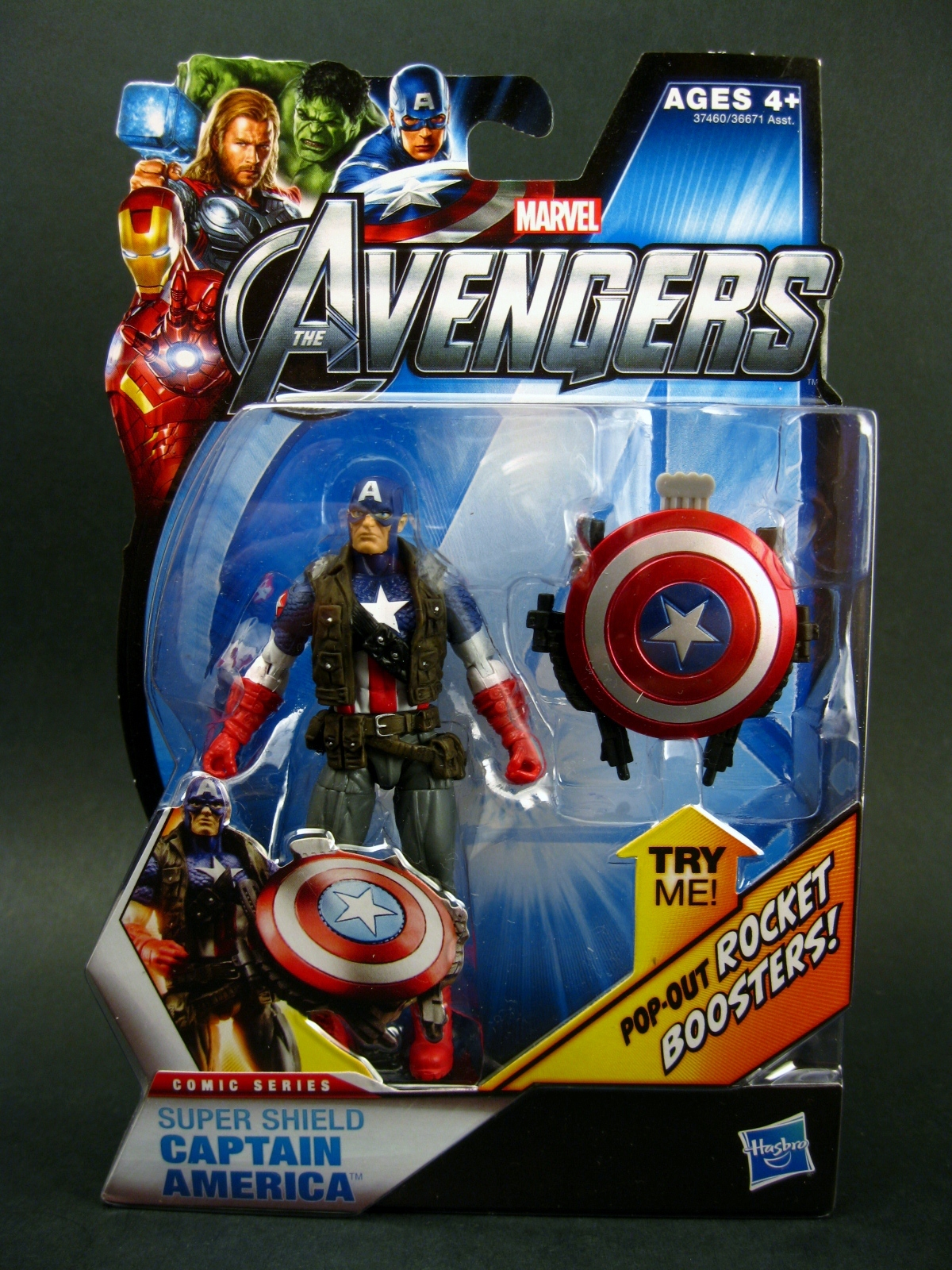 """Chase Variant: The Avengers 3.75"""" Super Shield (Ultimates ..."""