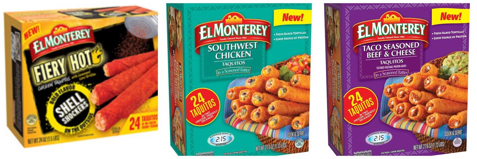 New El Monterey Taquitos